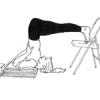 Yoga poses - Sarvangasana